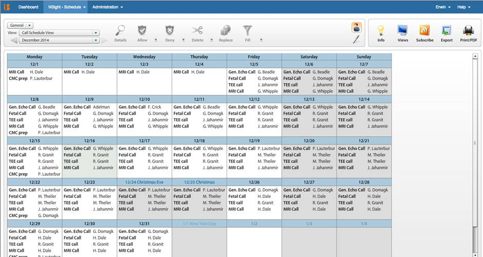 Weekend On Call Schedule Template Excel