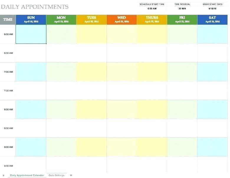 Weekend Rotation Schedule Template