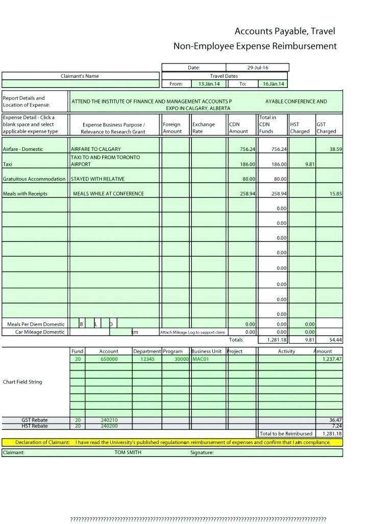 Weekly Budget Report Template