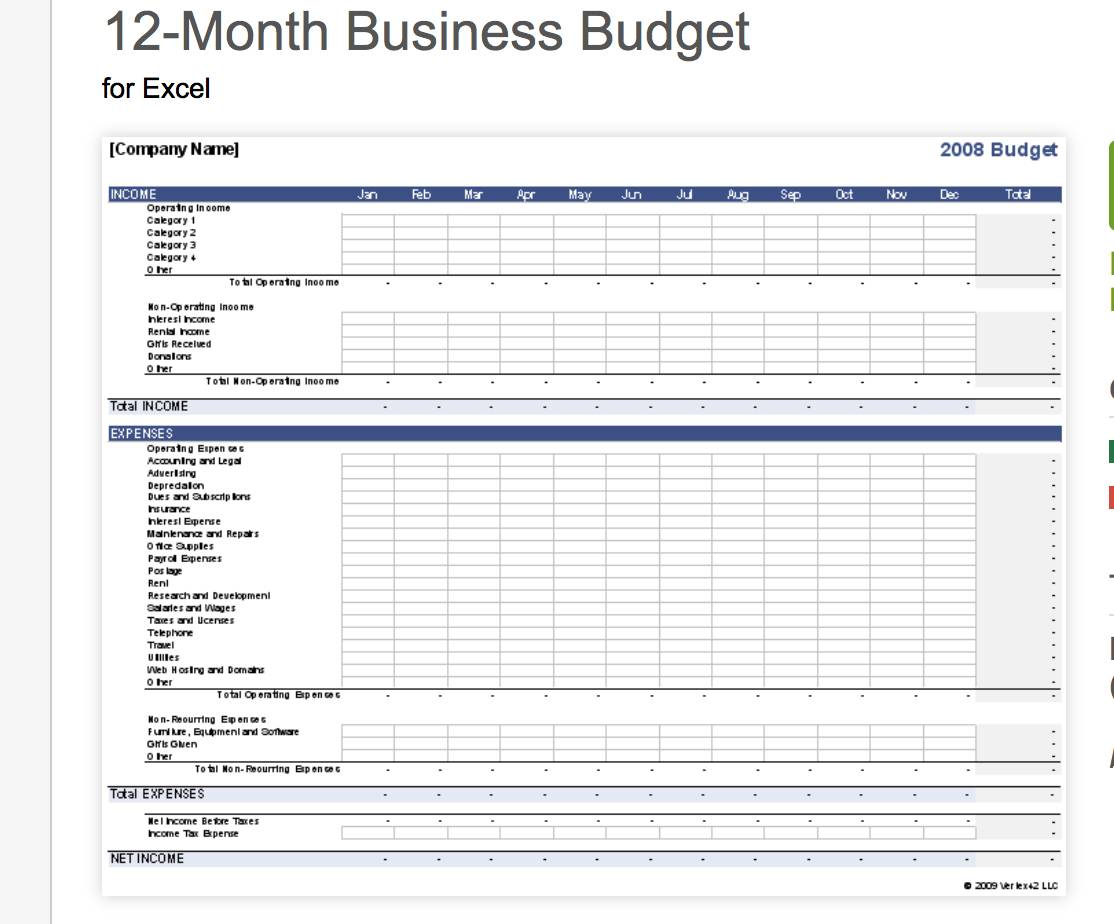 Weekly Expense Sheet Excel Template