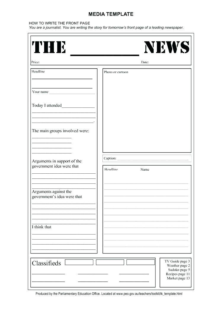 Weekly Newsletter Template For Preschool Teachers