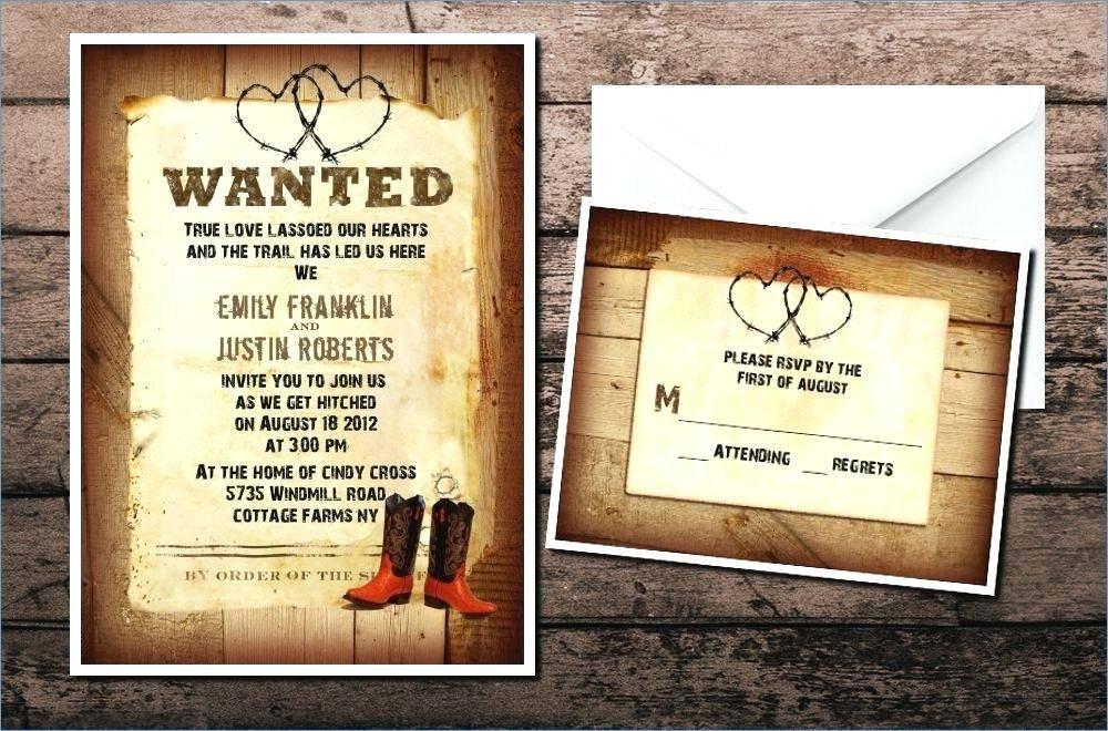 Western Invitation Maker
