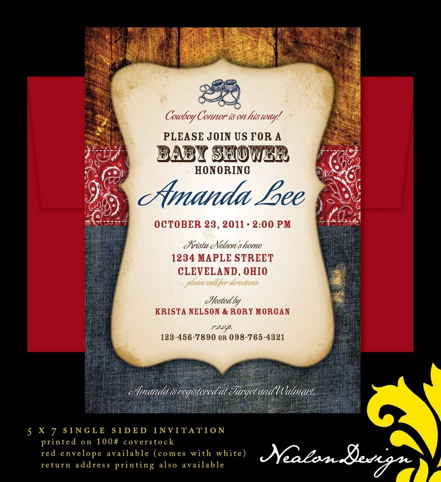 Western Invitation Template Download