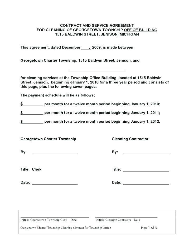 Window Cleaning Contracts Templates