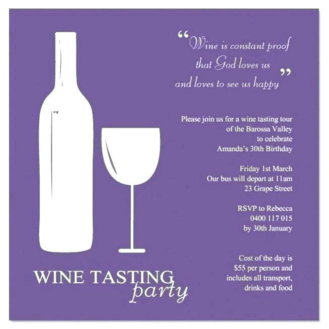 Wine And Cheese Party Invitation Template