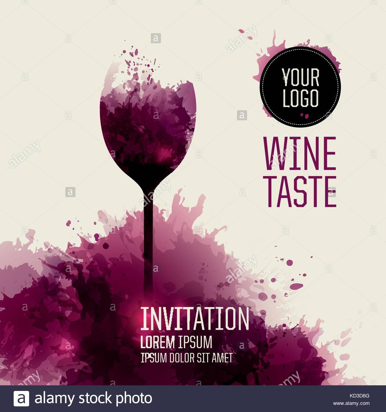 Wine Invitation Template