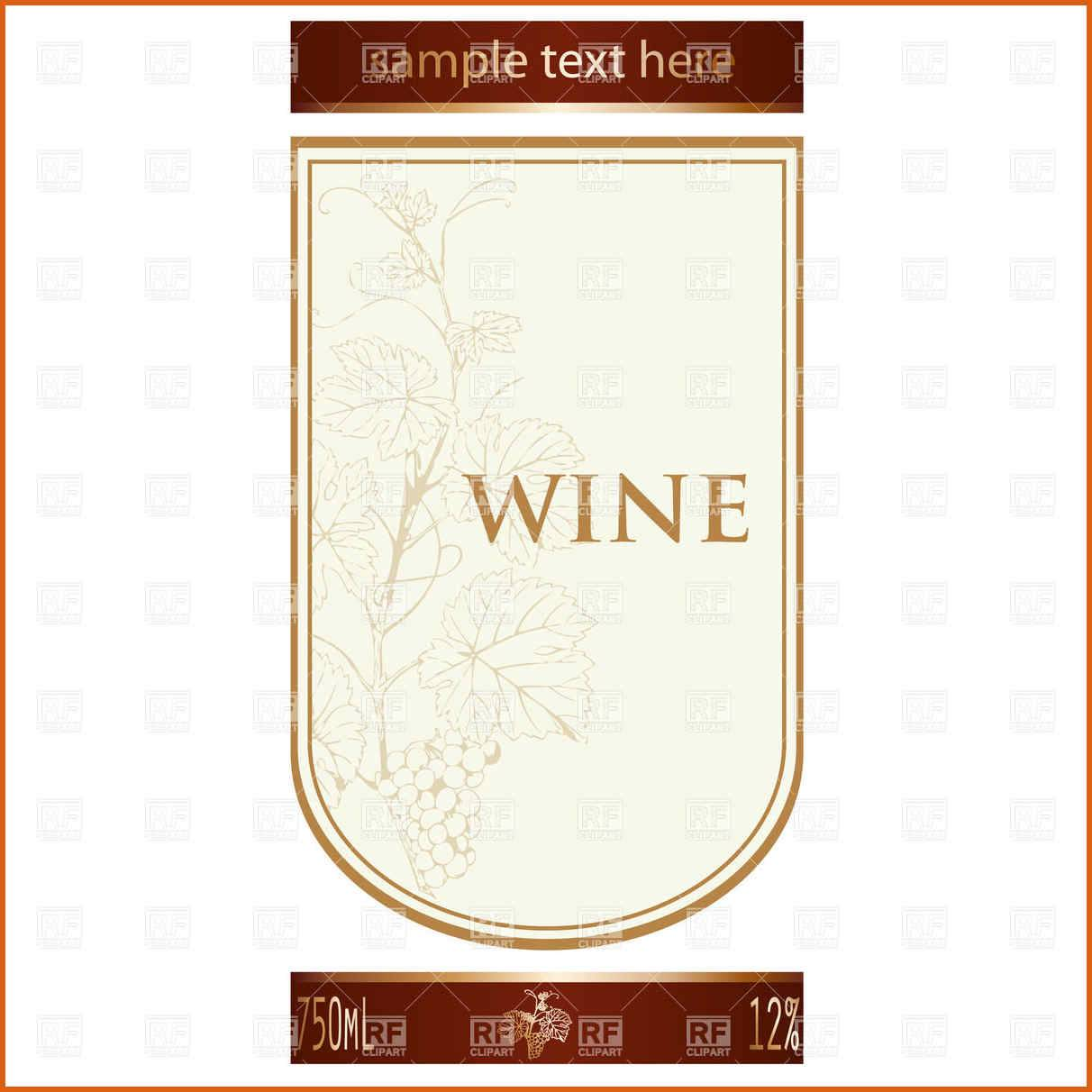 Wine Label Avery Templates Download