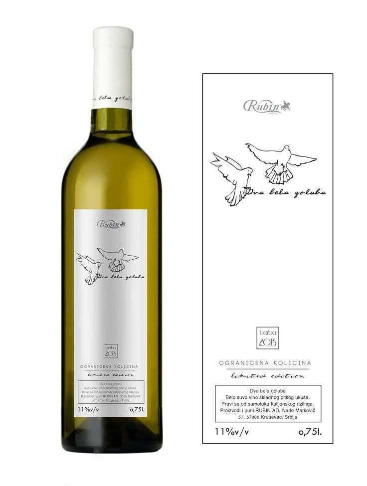 Wine Label Invitation Template