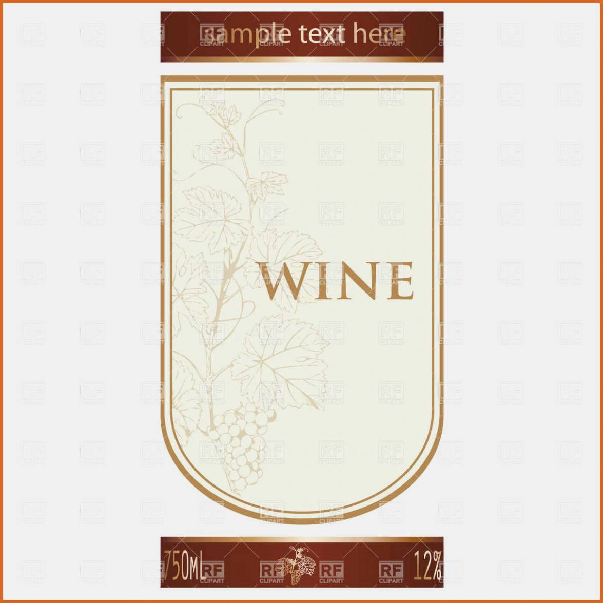 Wine Label Printable Free