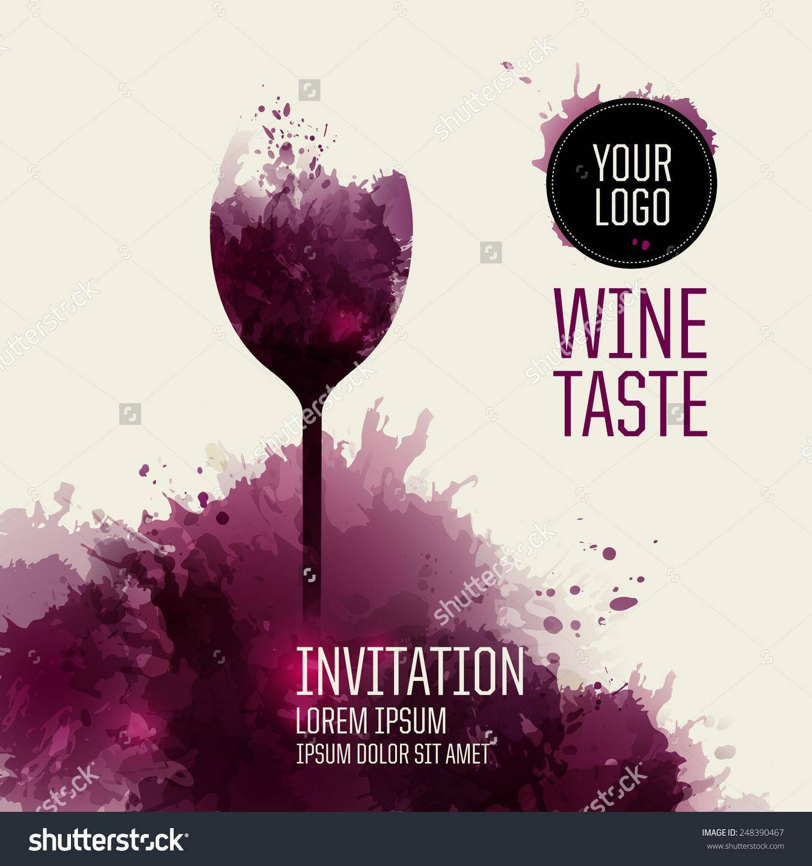 Wine Night Invite Template