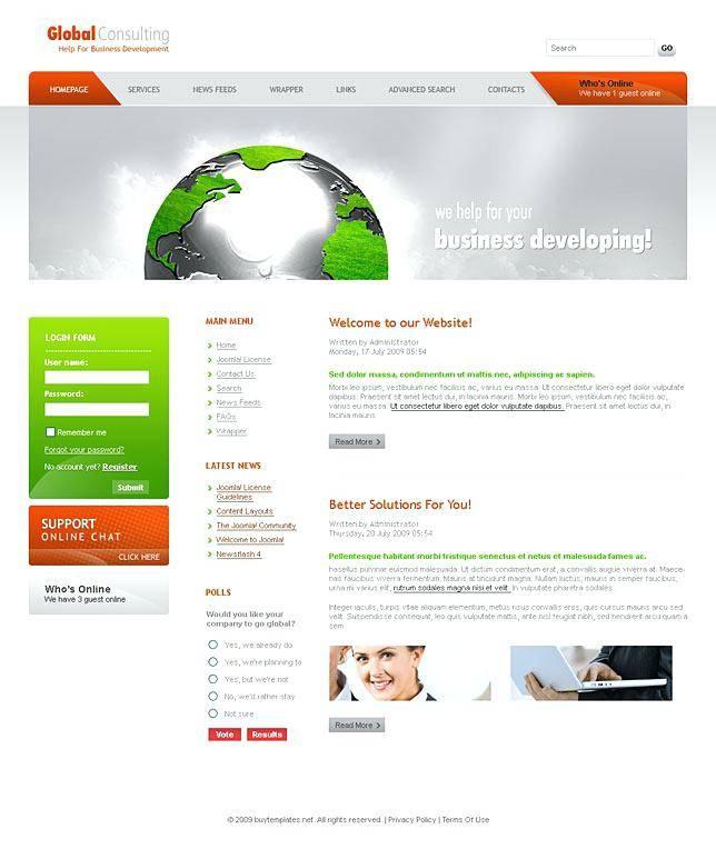 Wix Flash Website Templates
