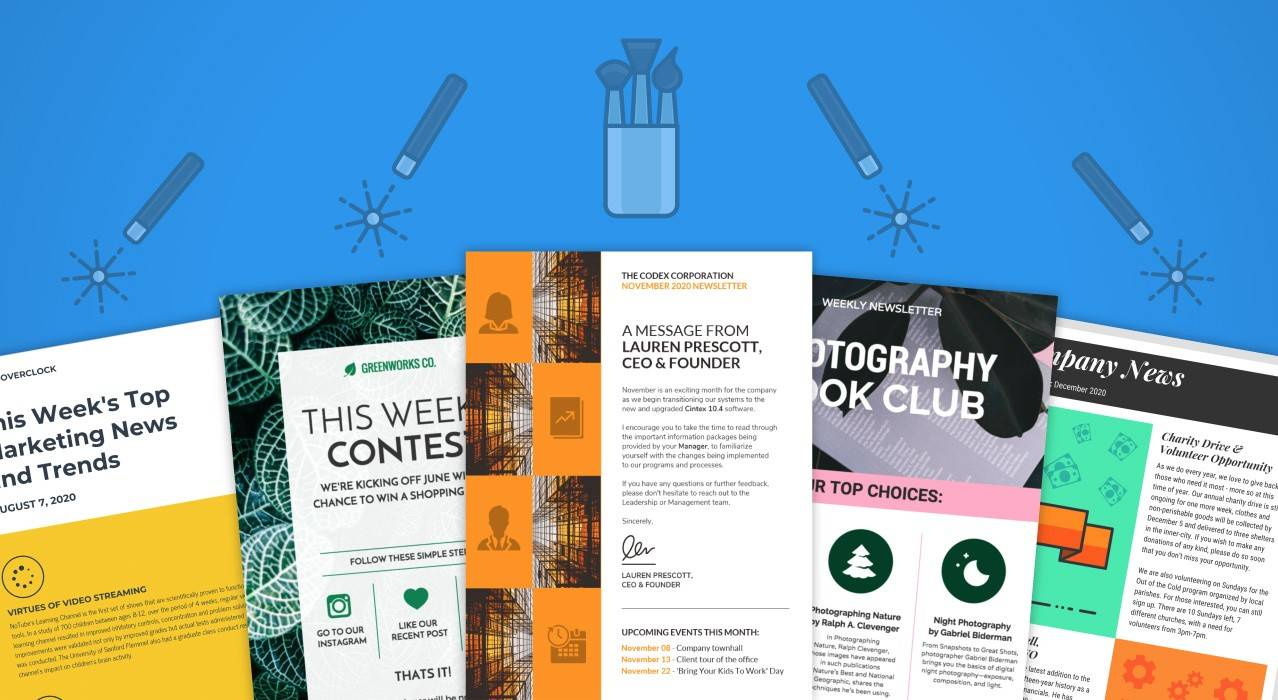 Word Holiday Newsletter Templates Free