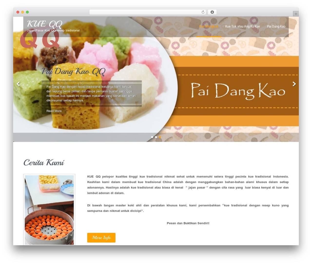 WordPress Best Restaurant Template