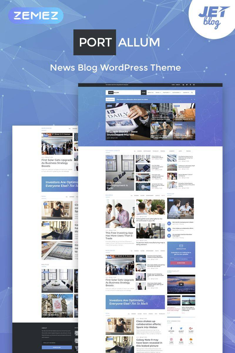 WordPress Blog Page Templates