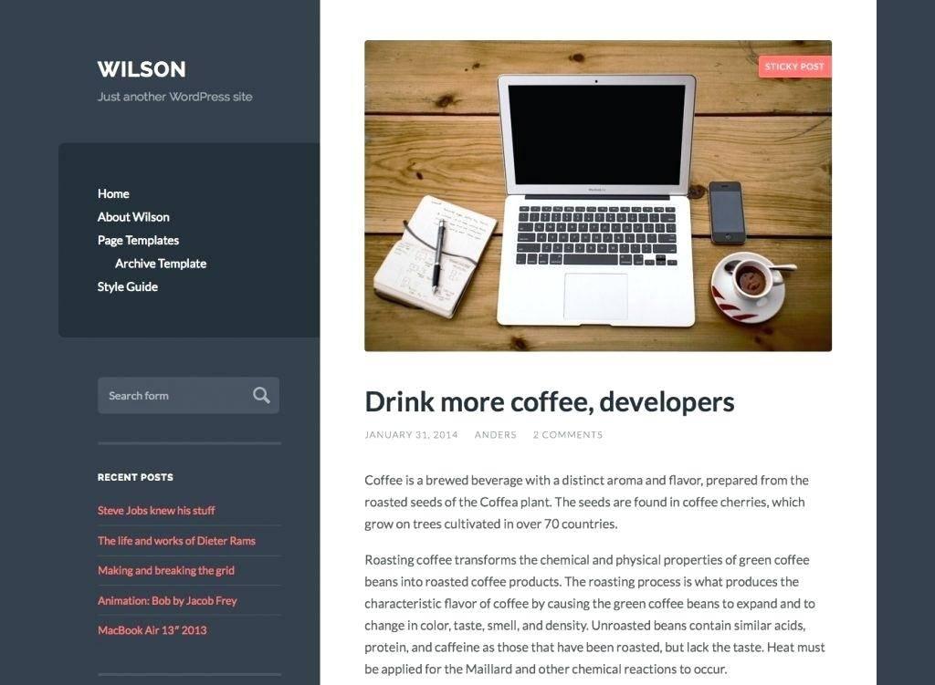 WordPress Blog Templates Etsy