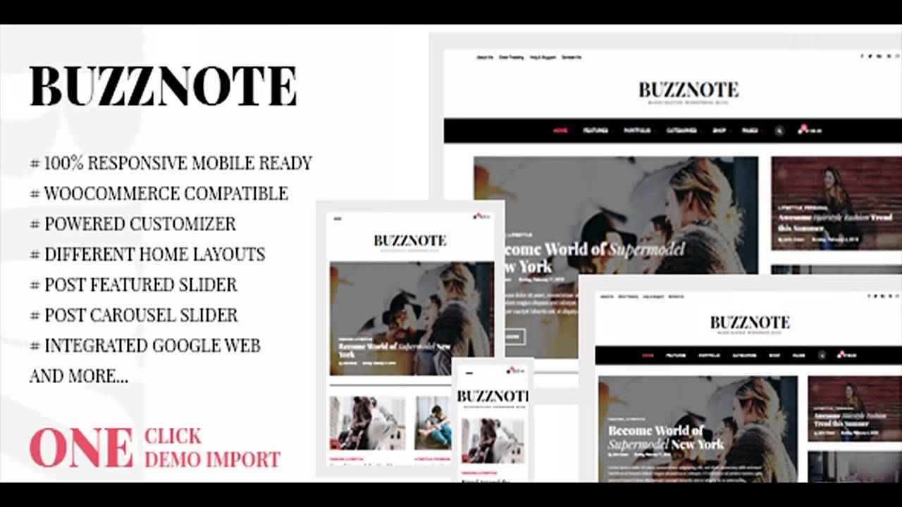WordPress Blog Templates Themeforest