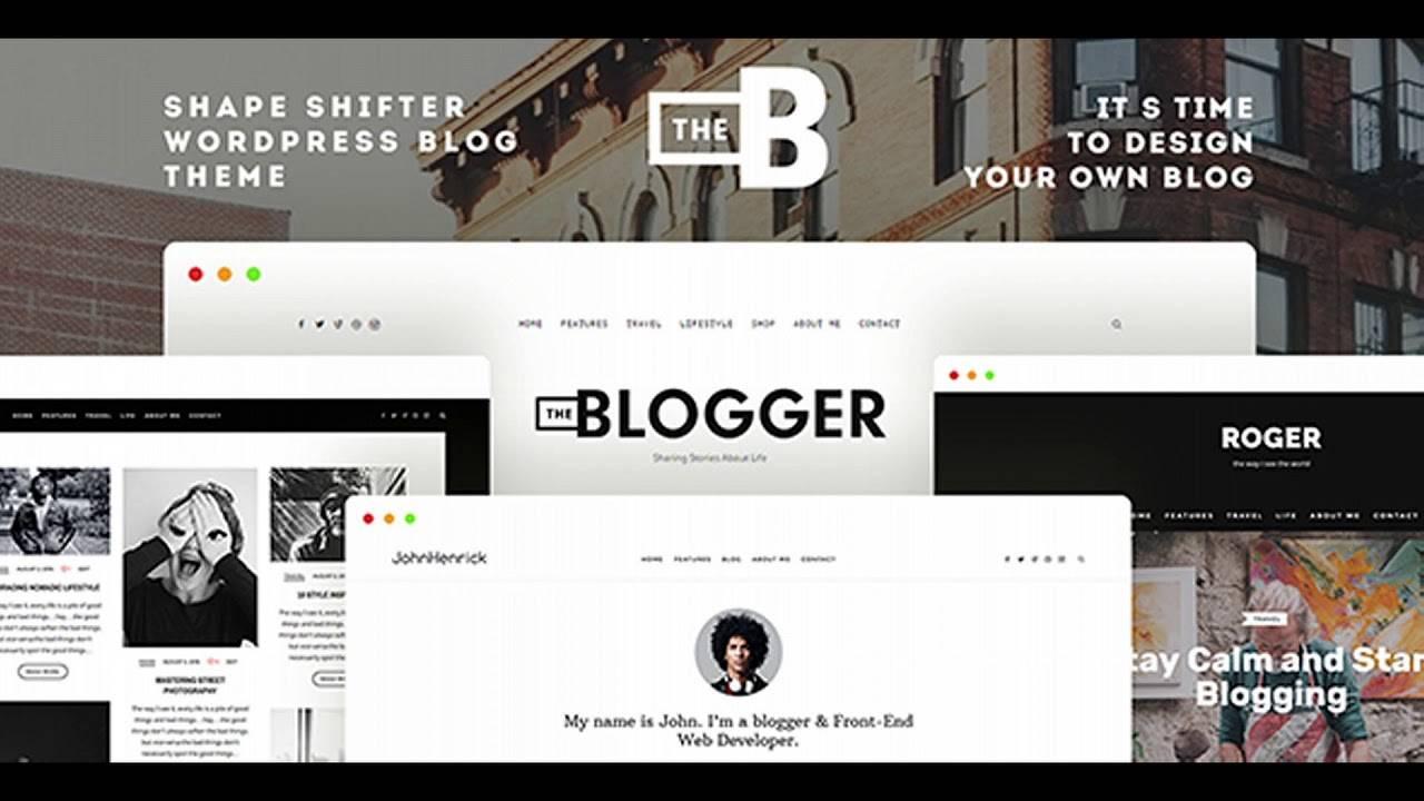Wordpress Blogging Templates
