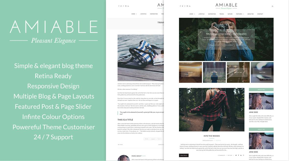 WordPress Blogging Theme