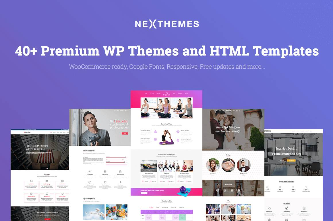WordPress Business Templates Premium