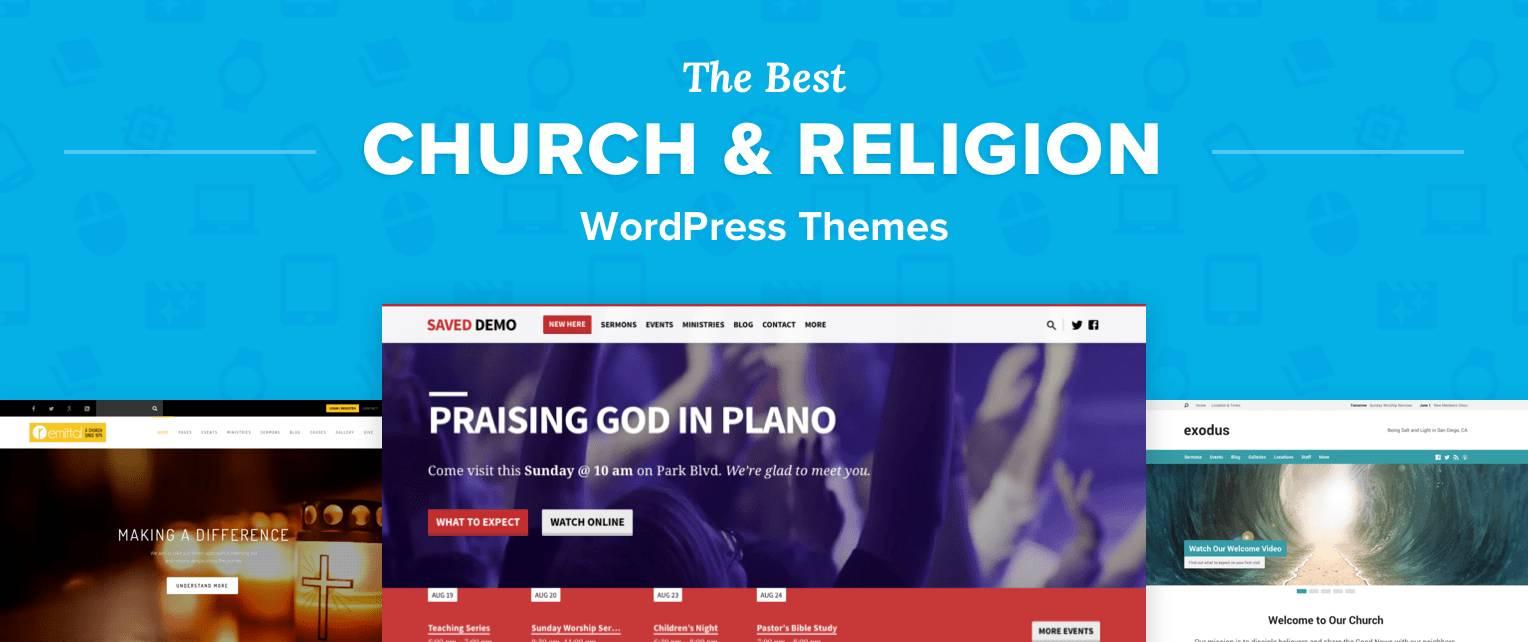 WordPress Church Themes Sermons