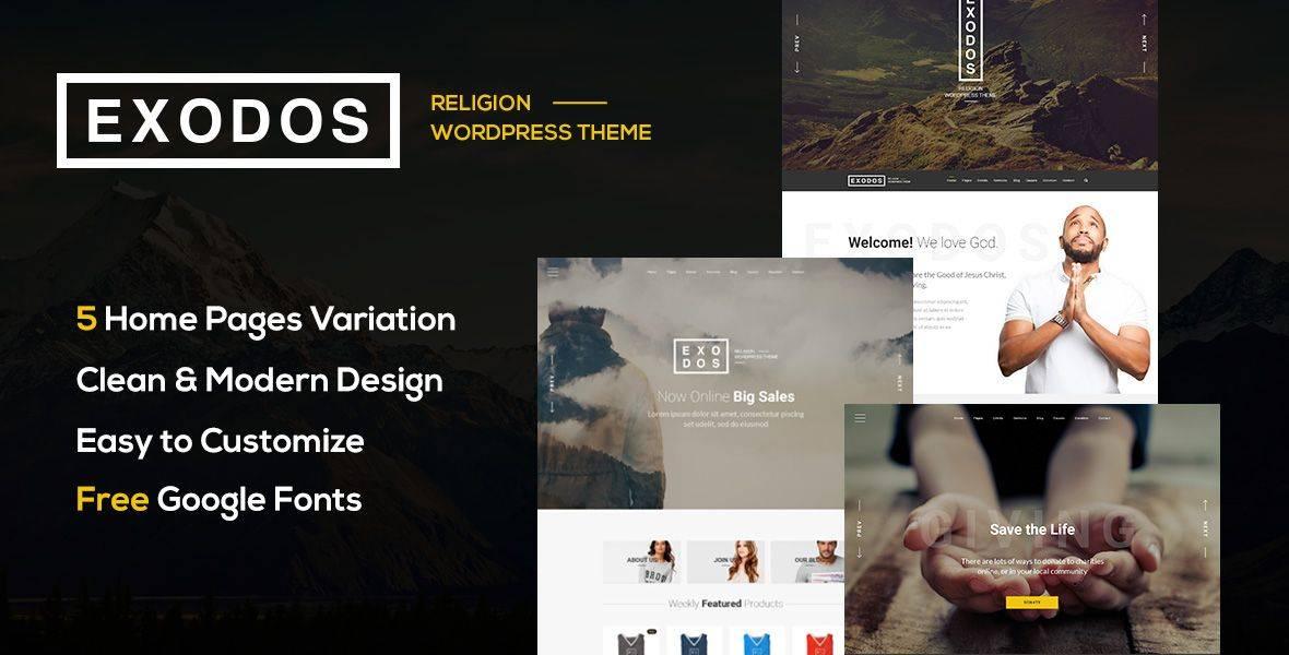 WordPress Church Themes Themeforest