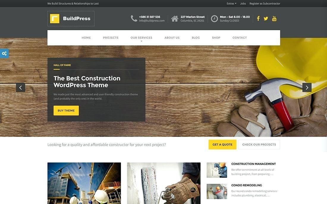 WordPress Construction Template