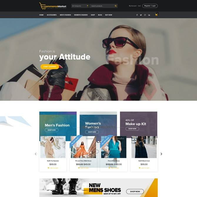 WordPress Ecommerce Themes Free Download