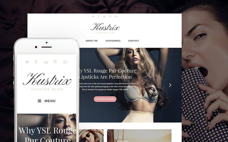 WordPress Fashion Blog Templates