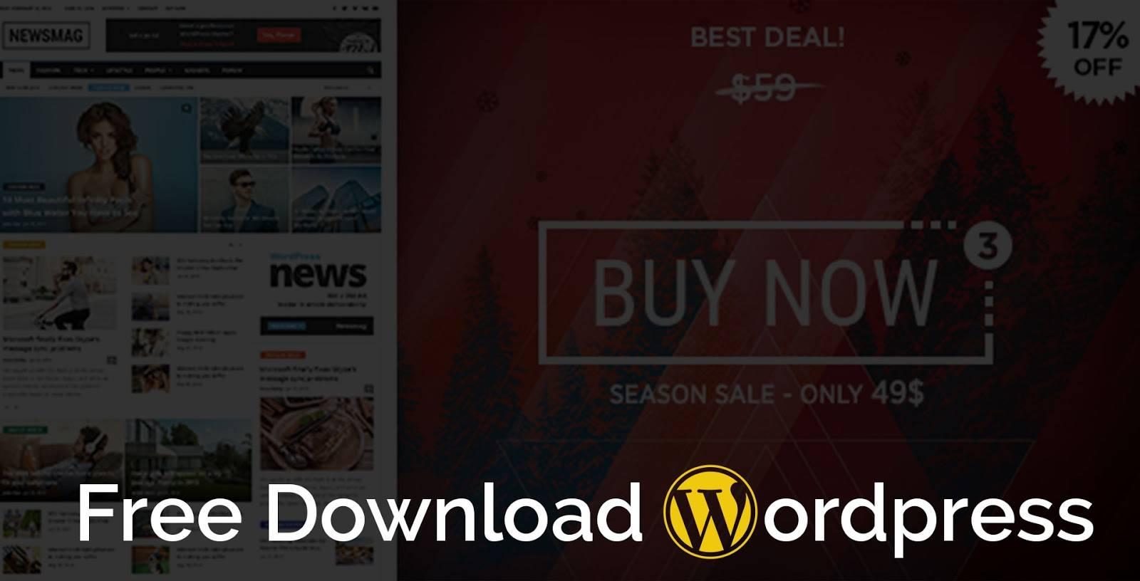 WordPress Magazine Templates Free