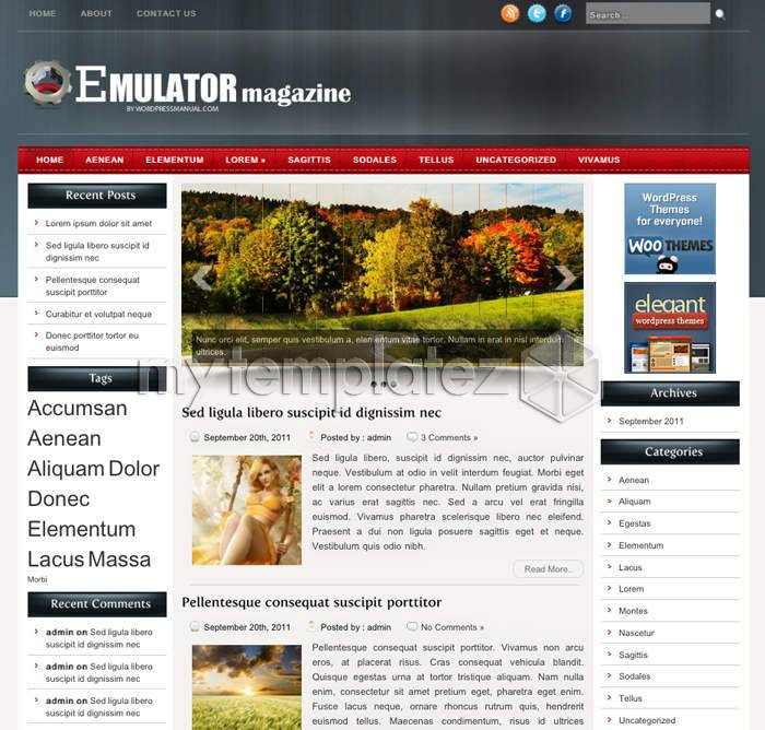 WordPress Magazine Templates