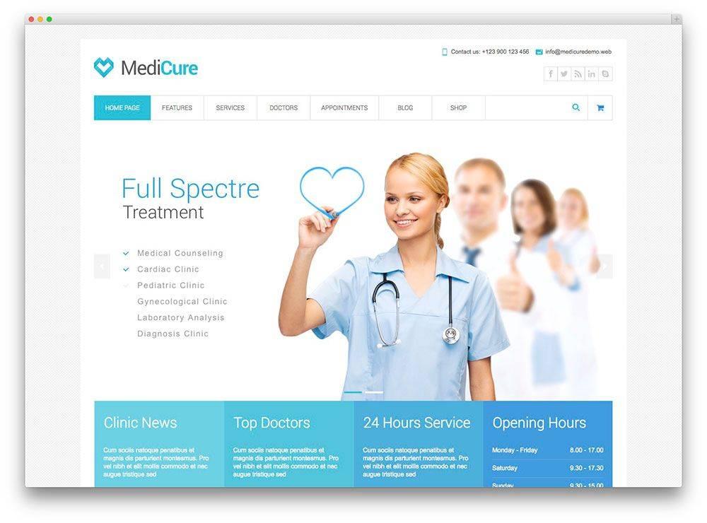 WordPress Medical Templates Free