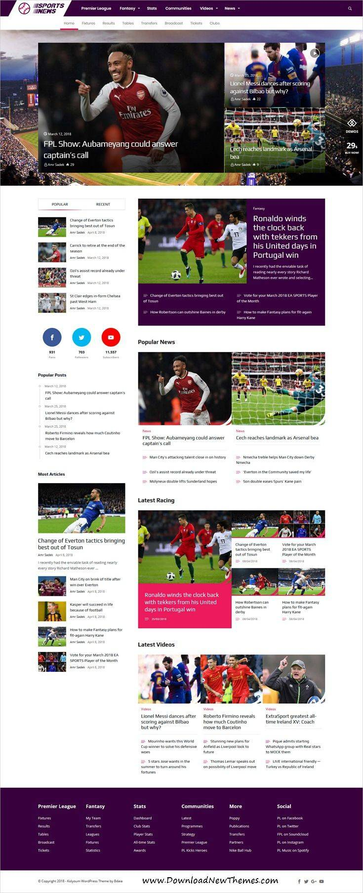 Wordpress Newspaper Templates