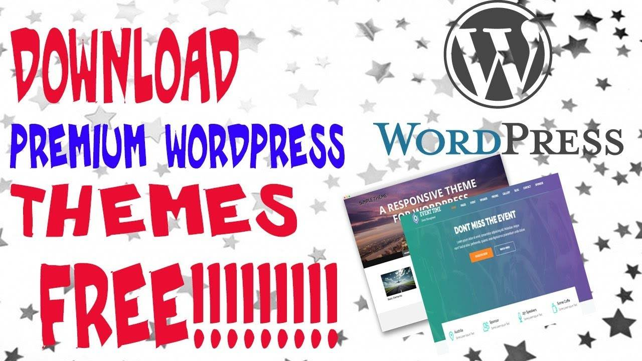 WordPress Paid Theme Free Download