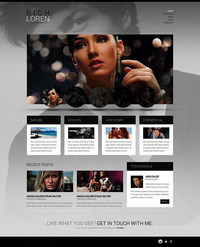 WordPress Photo Portfolio Templates