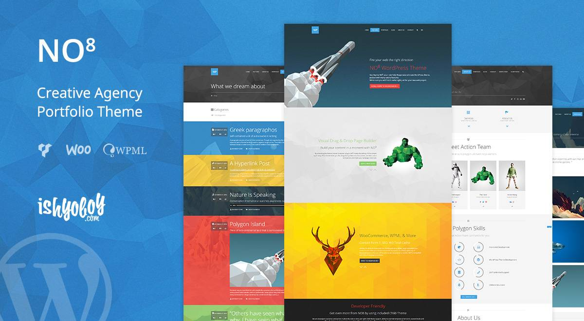 WordPress Portfolio Theme Creative