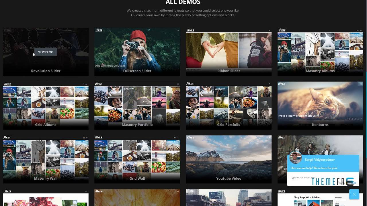 WordPress Portfolio Theme Video