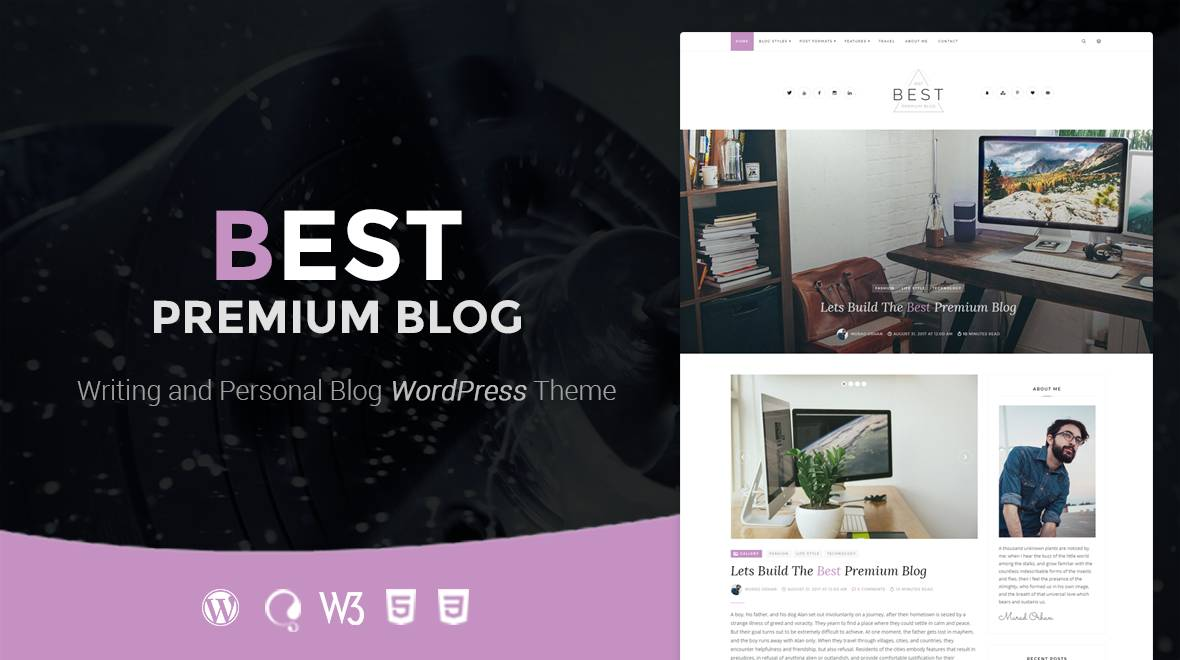WordPress Premium Blog Templates