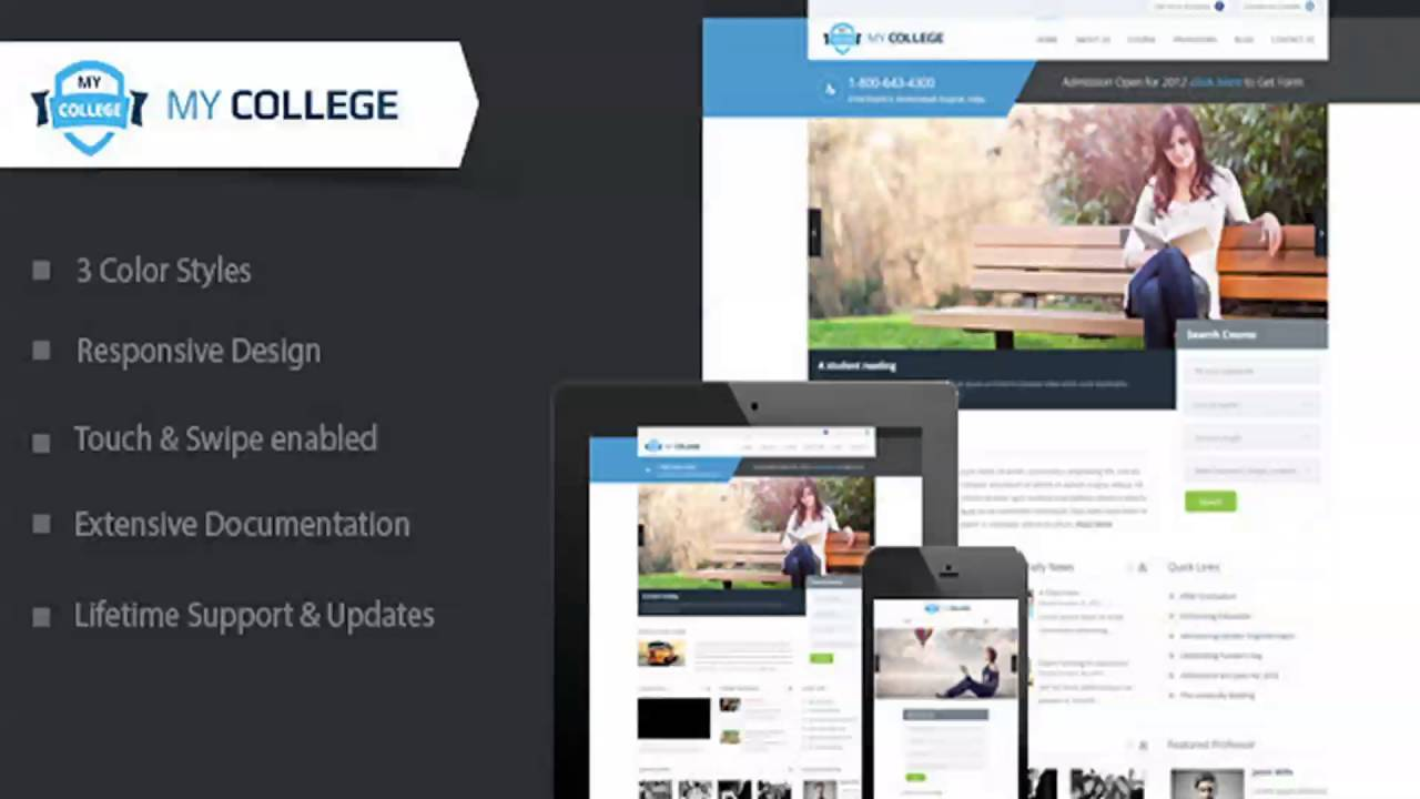 WordPress Premium Education Templates
