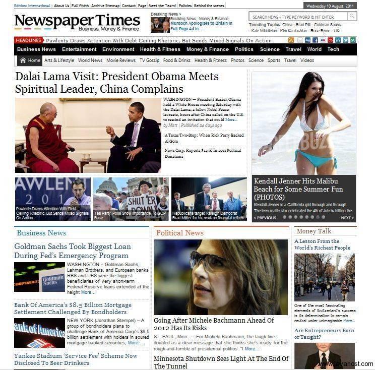 WordPress Premium Templates Download