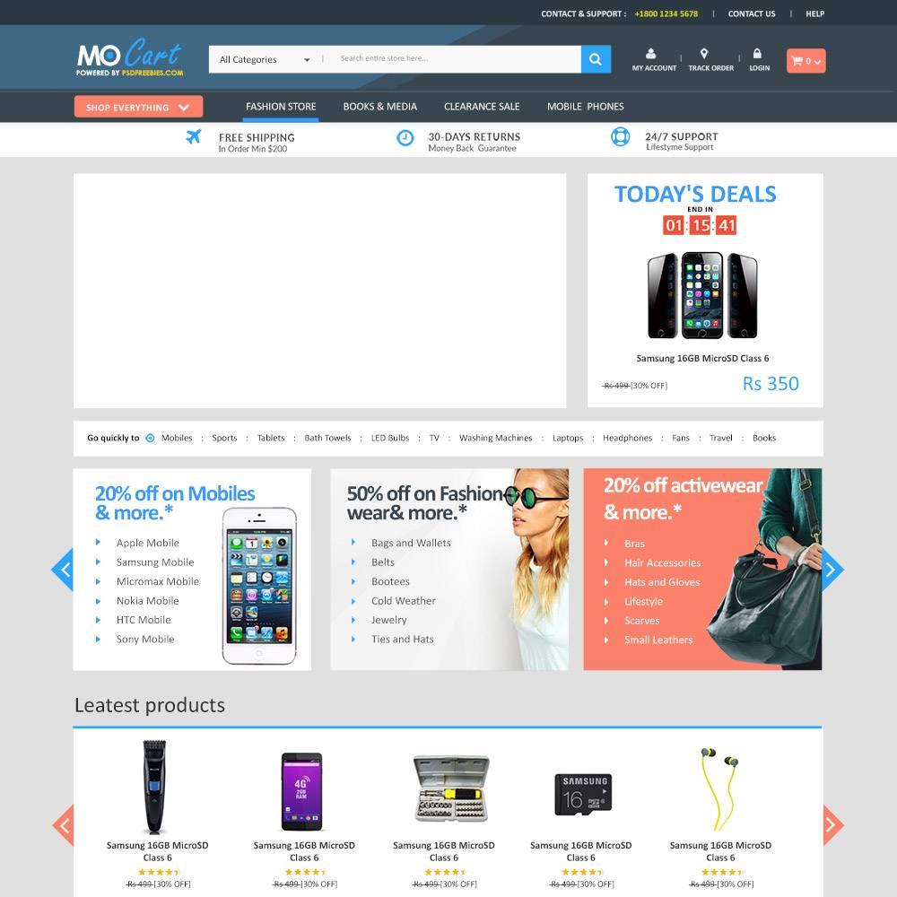 WordPress Psd Templates Free