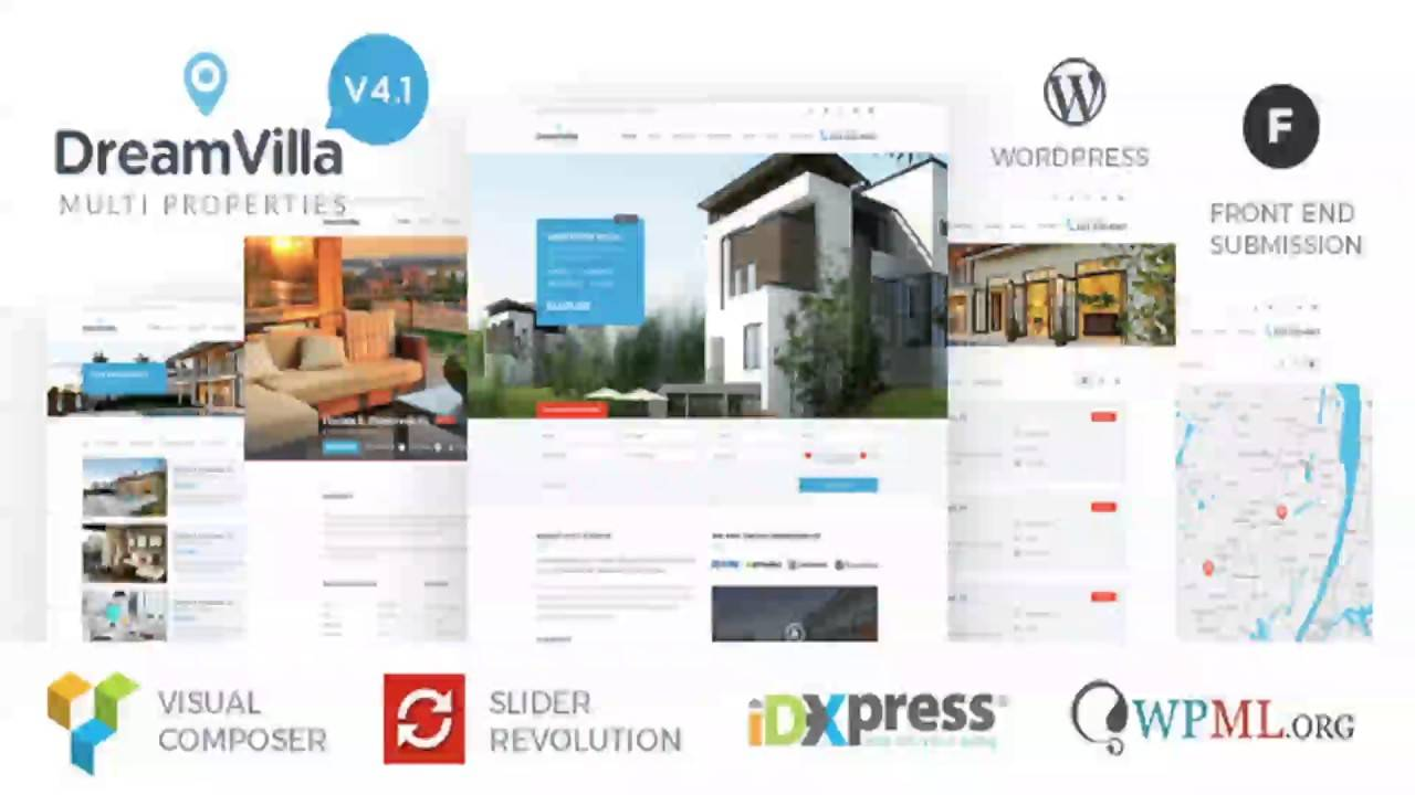 WordPress Real Estate Website Templates