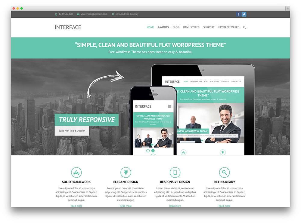WordPress Responsive Business Templates