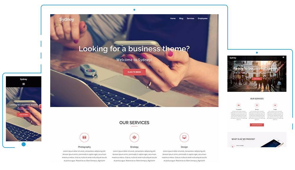 WordPress Responsive Design Templates Free
