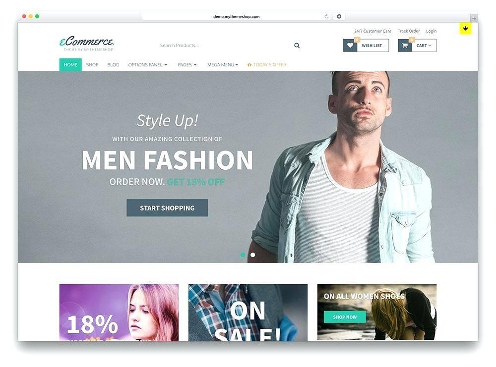 WordPress Shopping Cart Template Free Download