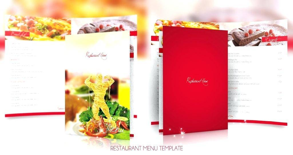WordPress Template Restaurant Menu