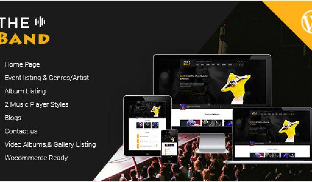 WordPress Templates For Musicians Free