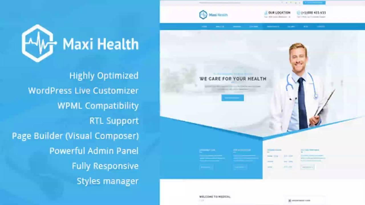 WordPress Templates Responsive Medical