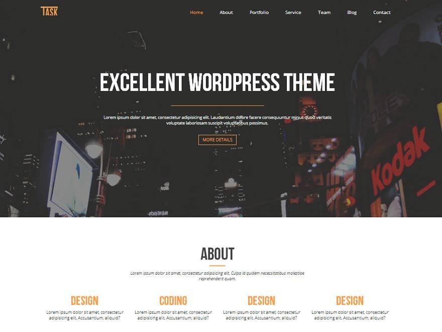 WordPress Templates Responsive Slider