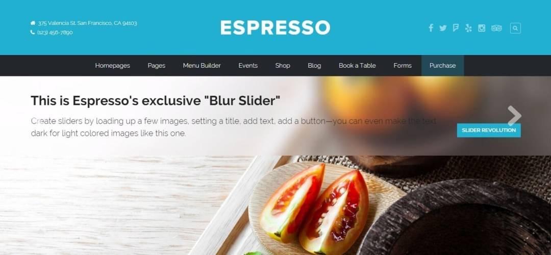 WordPress Themes For Restaurants Responsive