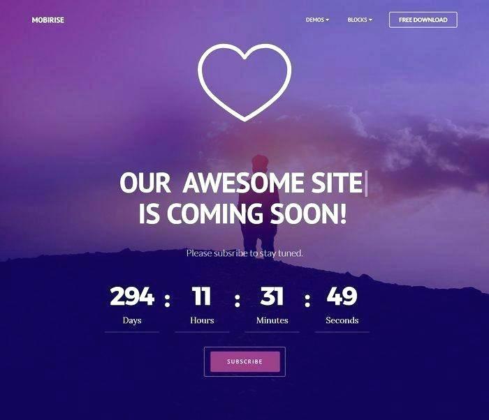 WordPress Under Construction Template